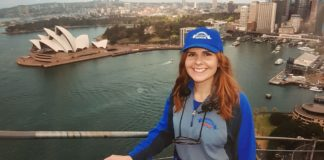 Rebecca Steele on Sydney Harbour Bridge