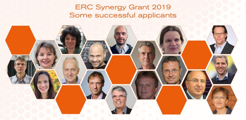 37 Research Groups Awarded ERC Synergy Grants