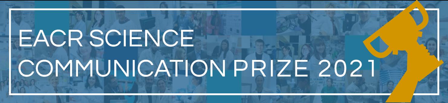 EACR Science Communication Prize 2021 banner